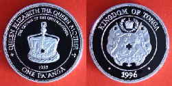 1996 ONE PA´ANGA CROWN OF THE QUEEN 003